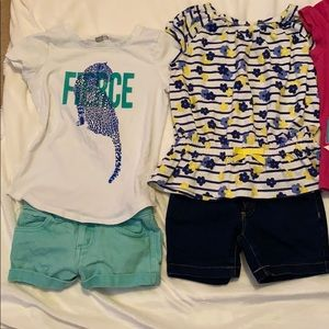 4 little girl outfits